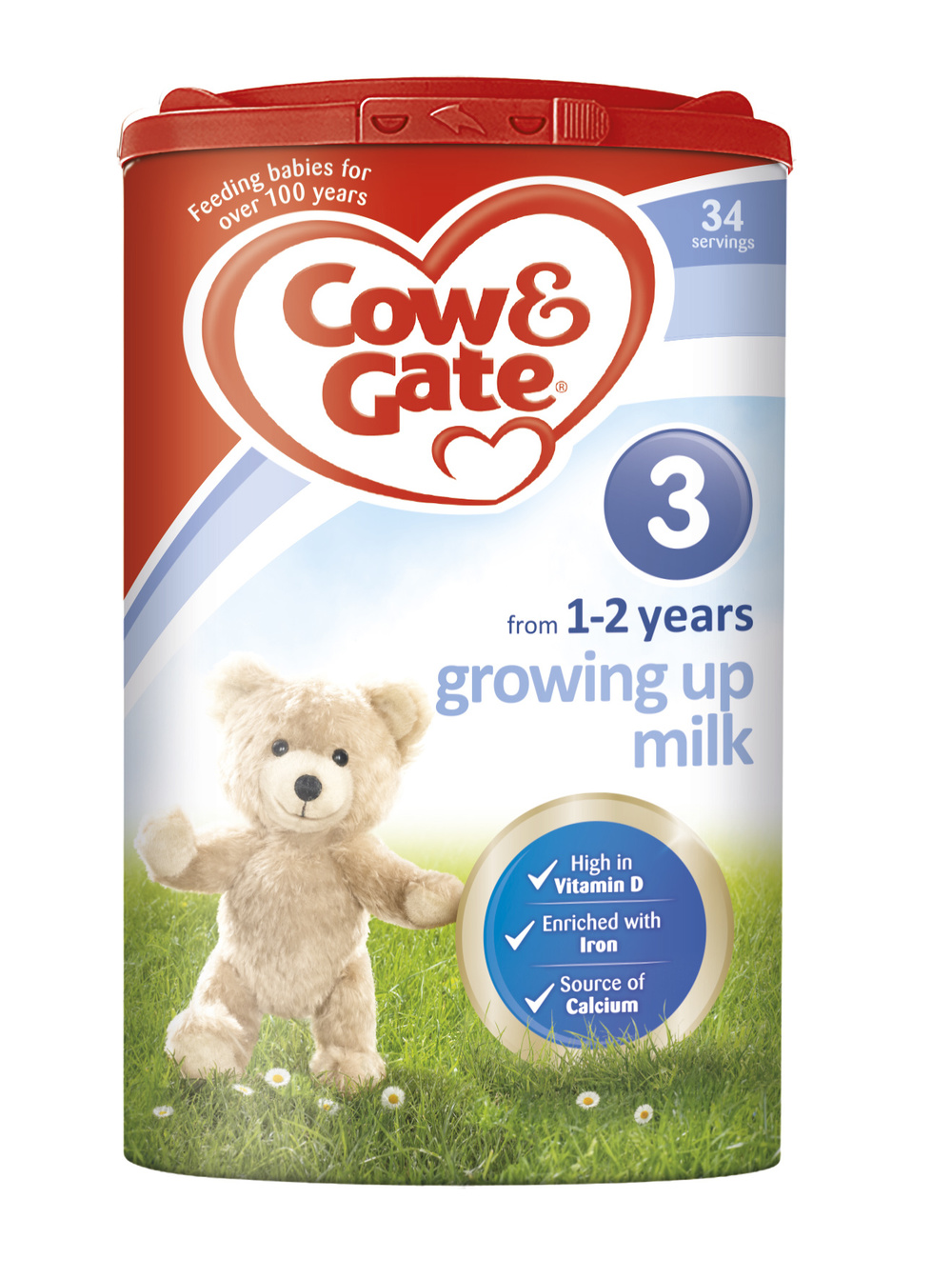 Cow & Gate animal photo teddy bear