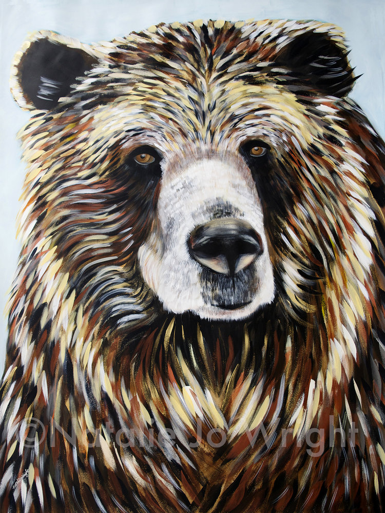 Natalie jo wright grizzly bear 42x56 publicscrutiny Image collections