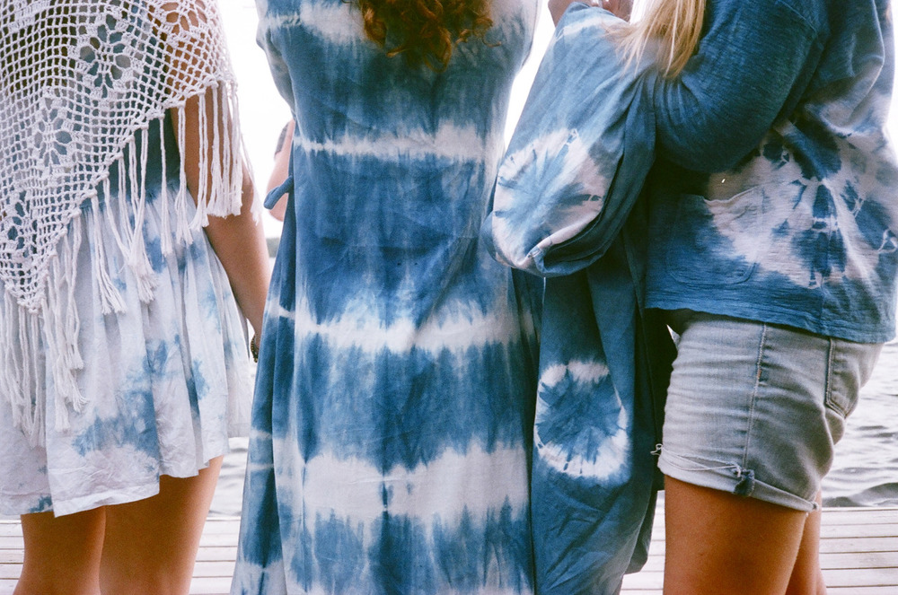 Indigo Tie-Dye Party