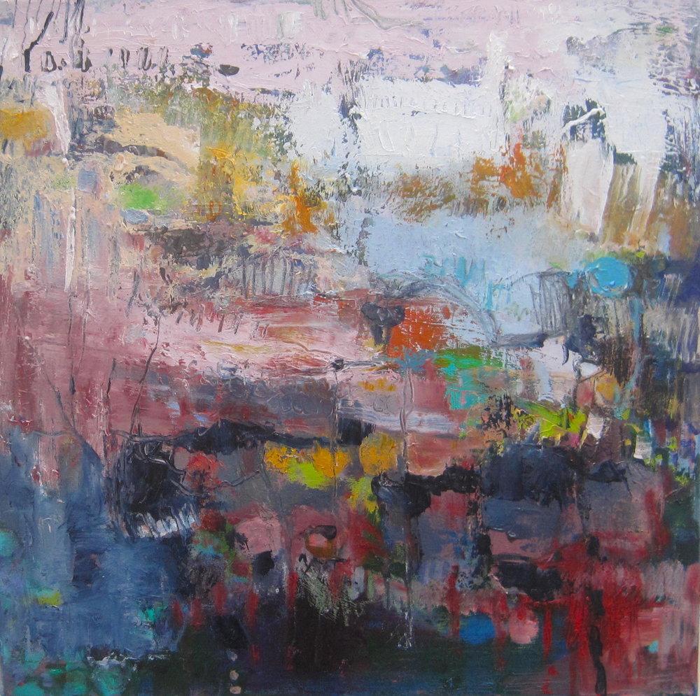 Winter Garden oil on canvas 60 x 60 cm