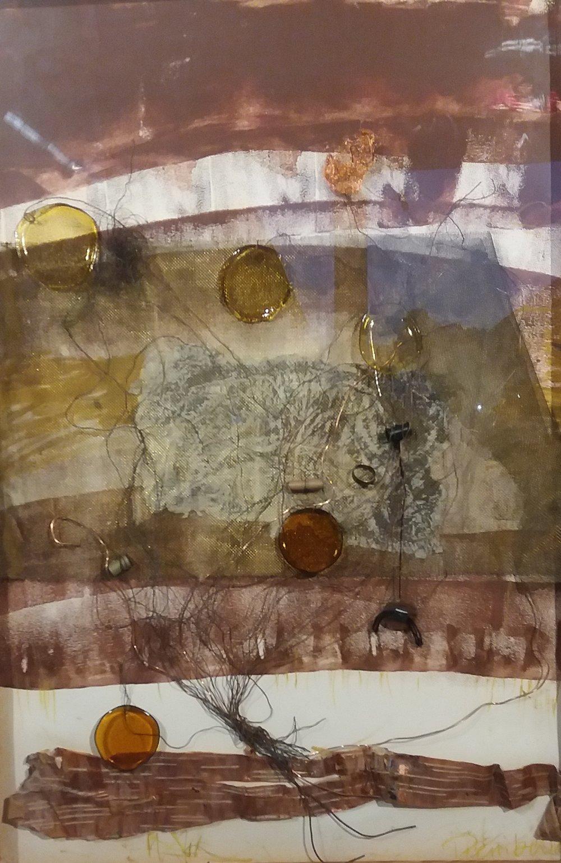 Invisible Landscape 65 x 95 cm mixed media