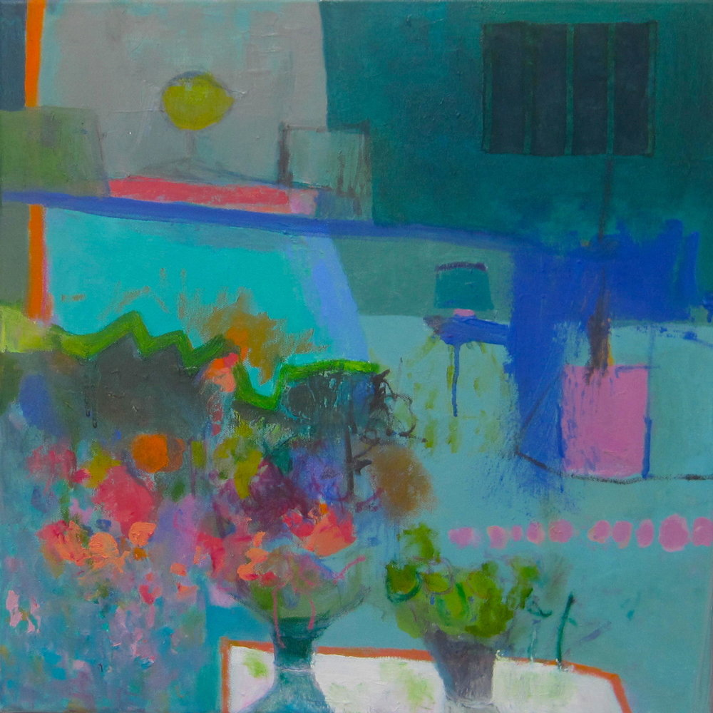 KITCHEN COLLECTION oil on canvas 50 x 50 cm     SOLD
