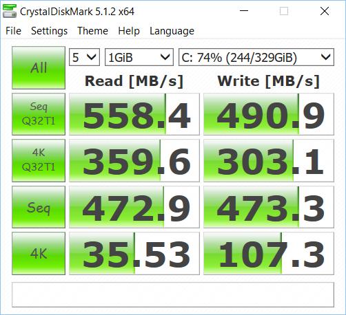 Intel 730 Series 480 GB drive