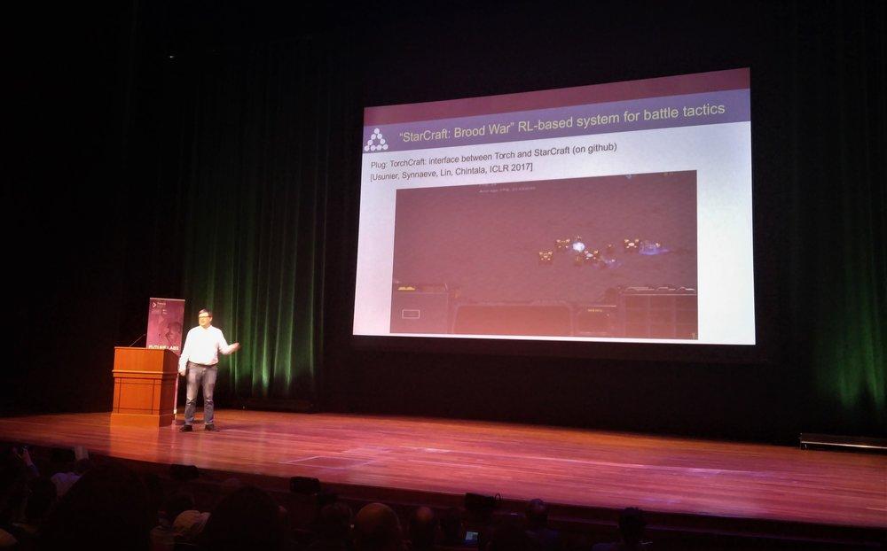 Yann LeCun on Star Craft AI