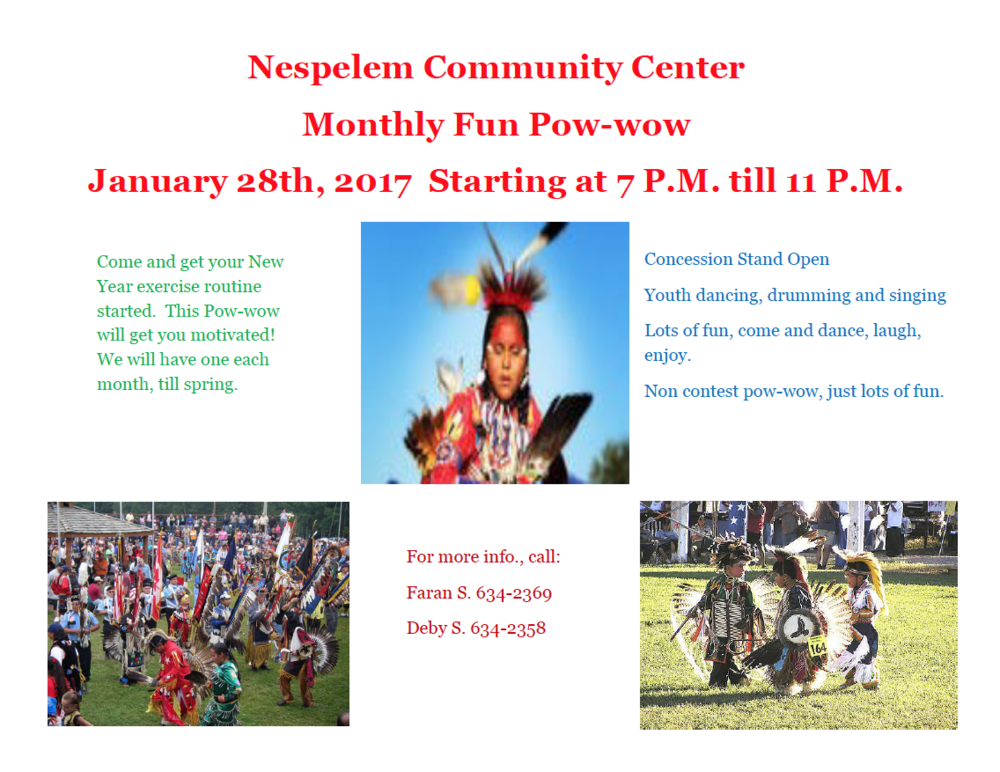 monthly fun powwow � colville tribes