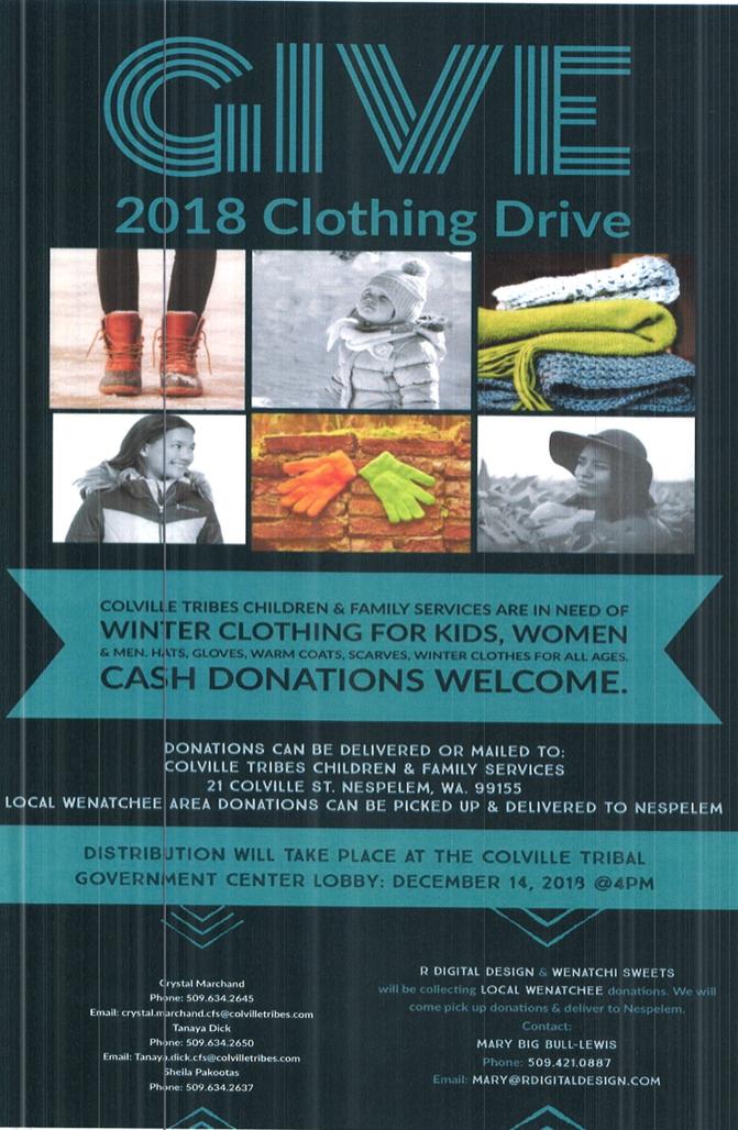 CFS Donations