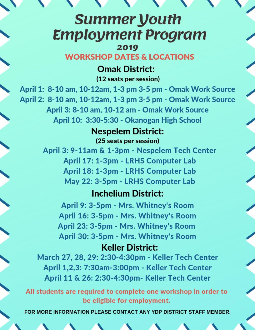 2019 SYEP Workshops Dates.png