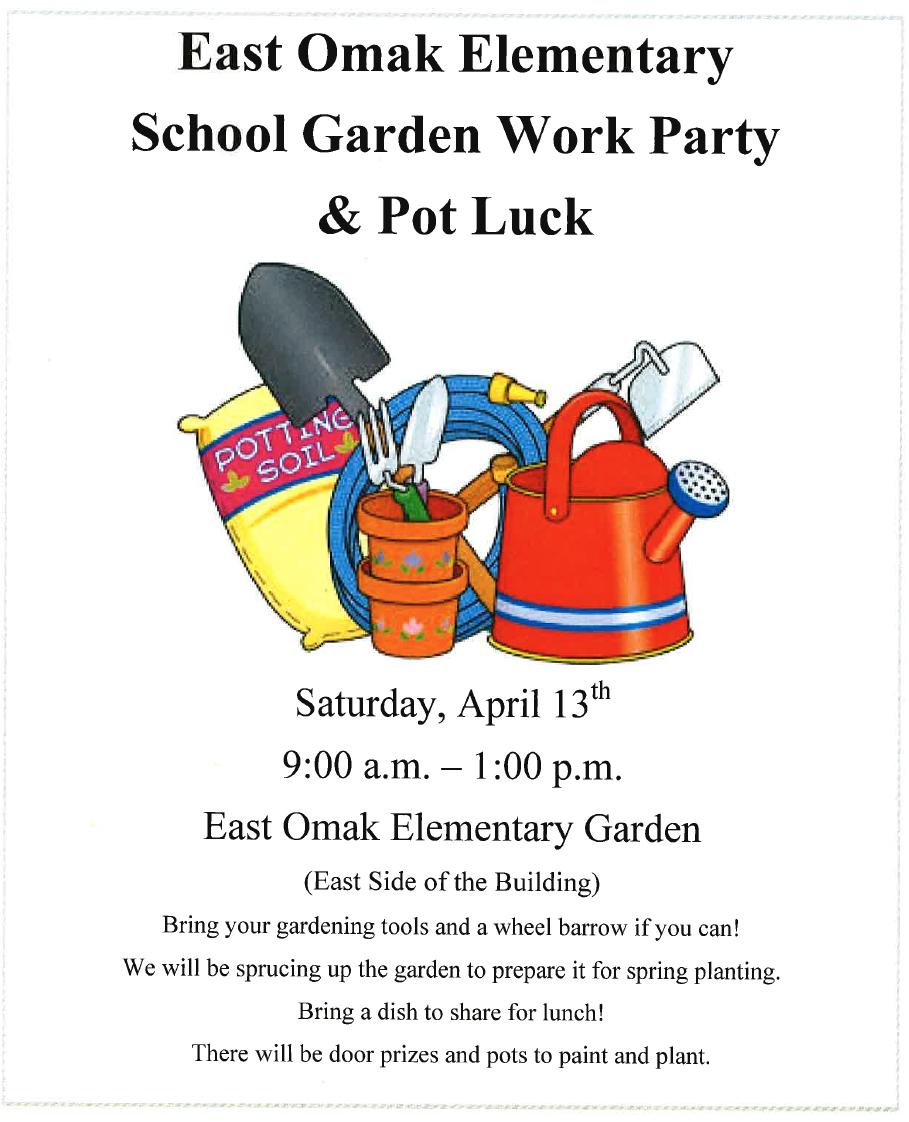 East Omak Elementary School Garden