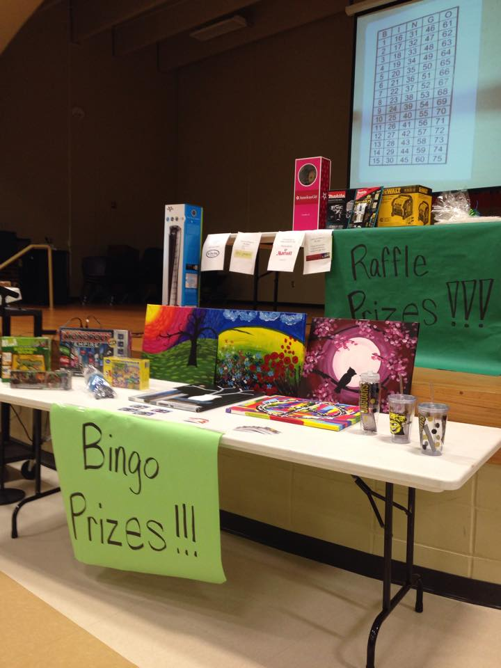 February Family Fun Night = Bingo!