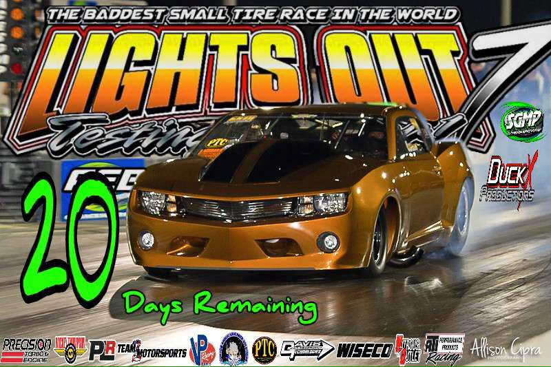 Join us at South Georgia Motorsports Park for Lights Out!