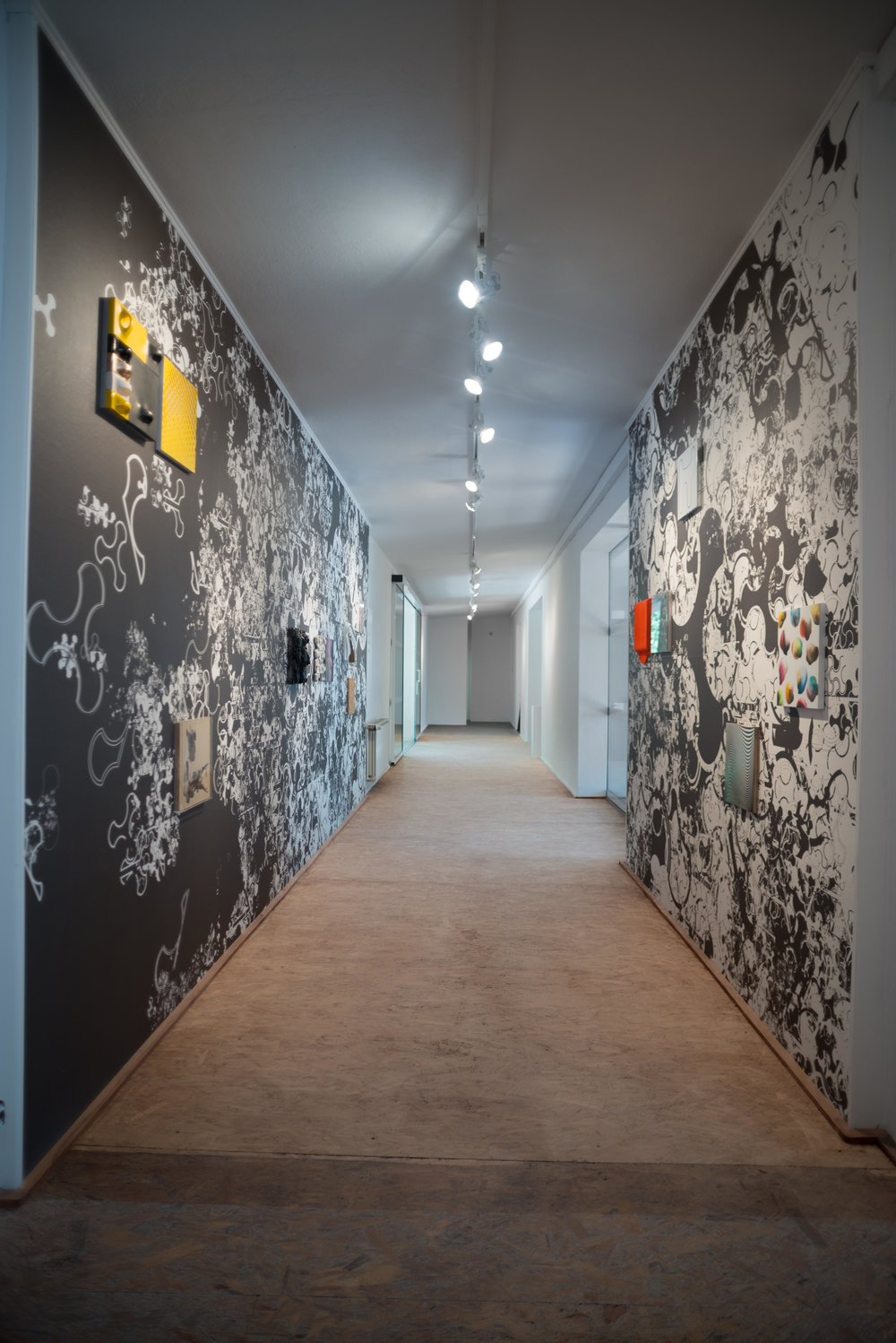 installation view, Bei Wu, Wesenberg, Germany, 2016