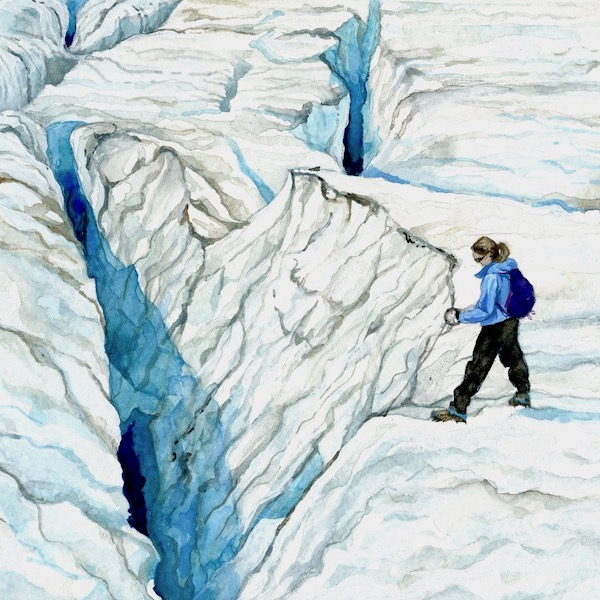 Measuring Crevasse Depth