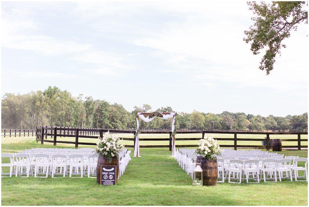 fence line set-up