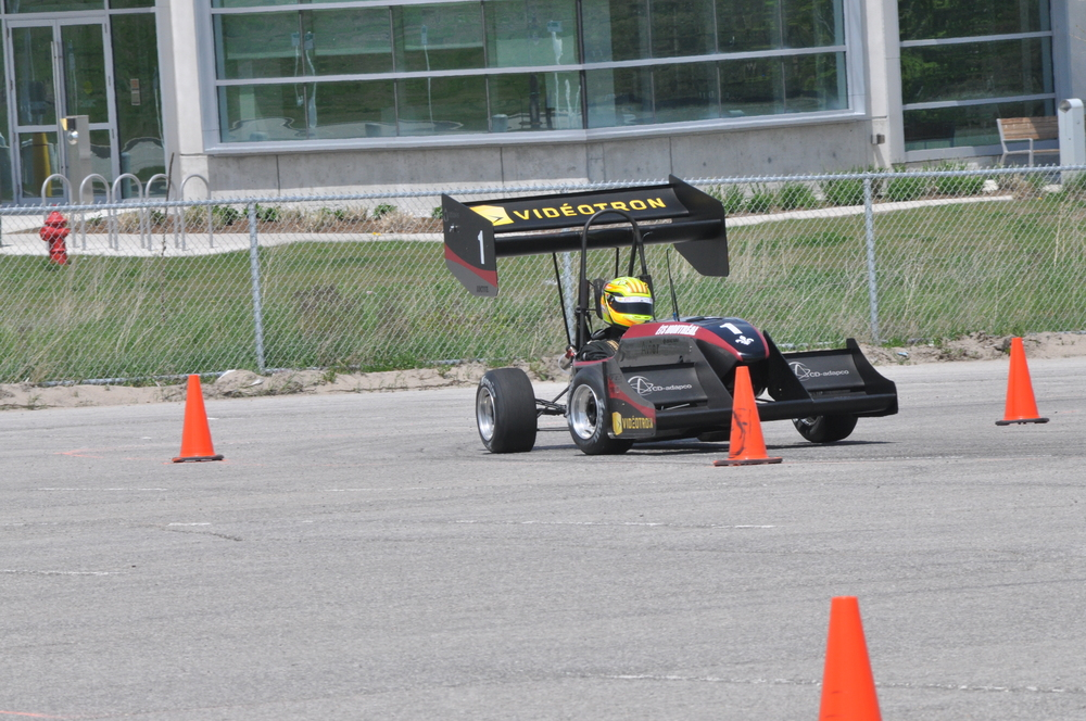 AXFF-14 2014, Michigan International Speedway, Michigan - 1ère place design / 1st place design - 3ième place skidpad / 3rd place skidpad 2014, Barrie Molson Center, Ontario - 1ère place design / 1st place design - 3ième place skidpad / 3rd place skidpad - 4ième place marketing / 4th place marketing