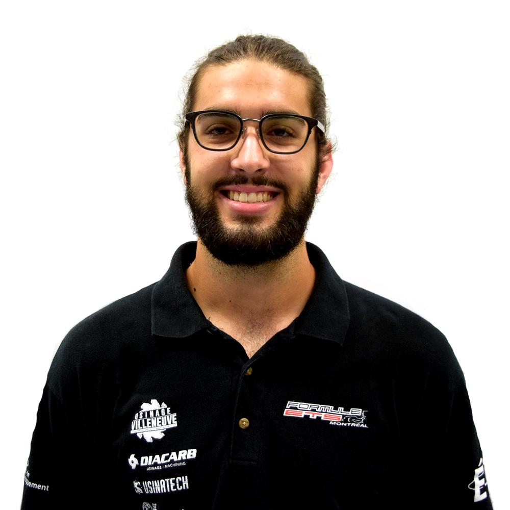 Alex Guérin Team Captain alex.guerin.formule.ets@gmail.com