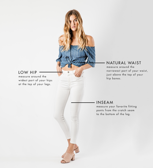 e6357f5663ae DENIM DICTIONARY - WHICH SILHOUETTE BEST FITS YOU?