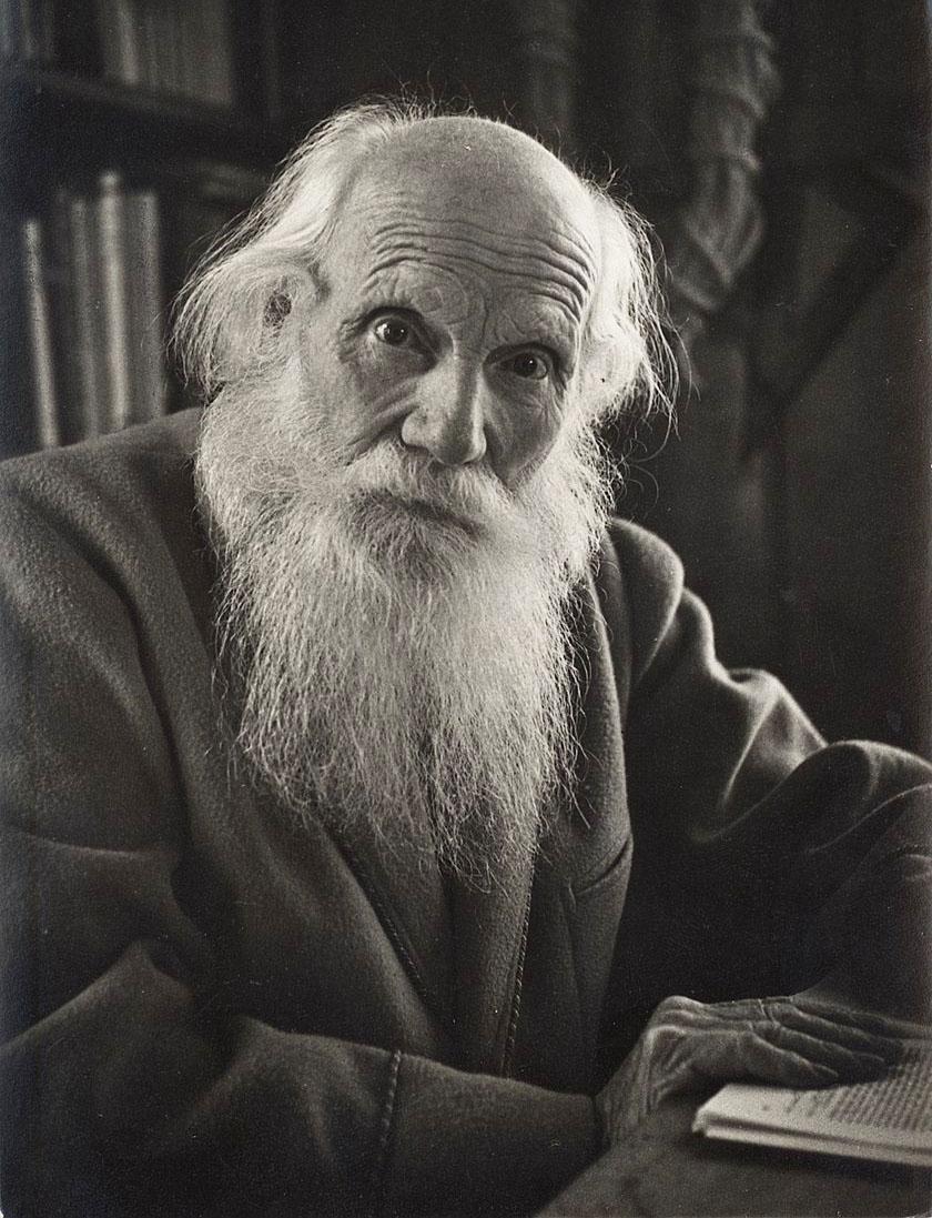 Albert Heim (1849-1937) in einer Aufnahme von 1934.  zVg
