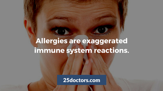 what are allergies 25 doctors