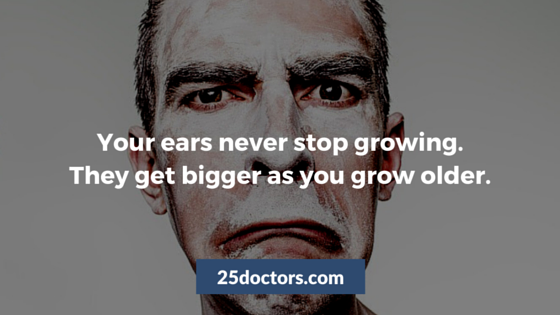 ears never stop growing