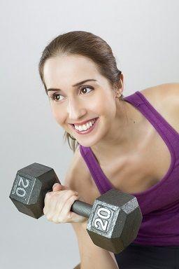 muscle building burns calories