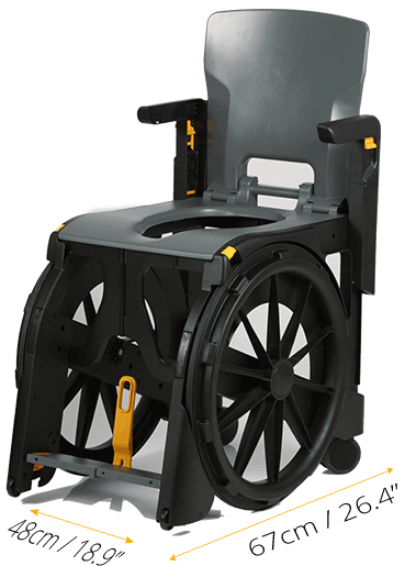 Most Luxurious shower wheelchair