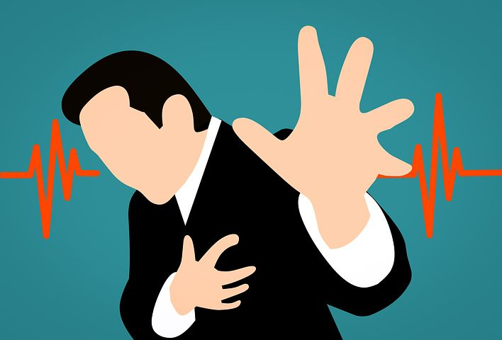 Chest pain that comes and goes