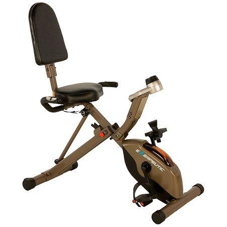 Exerpeutic-525 foldable recumbent bike