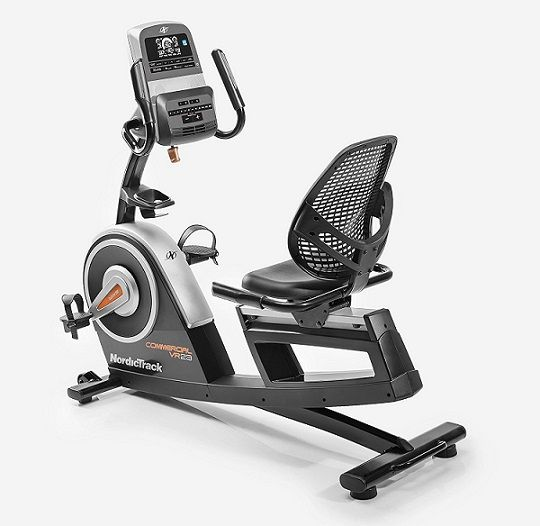 Nordic Commercial Recumbent Stationary Bike