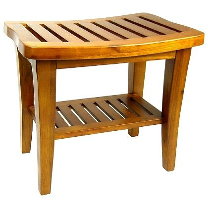 Redmon Decor Classic Teak Wood Bench.jpg