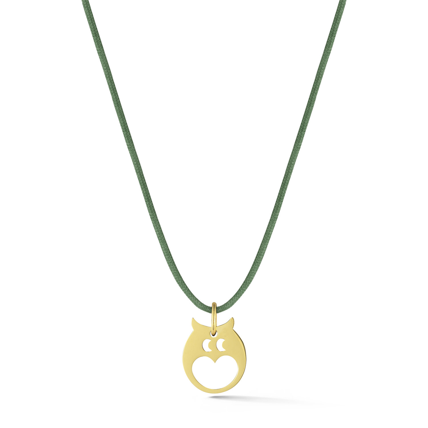 new pendant faux york owl pearl jewelry kate lyst product spade normal in gold necklace gallery