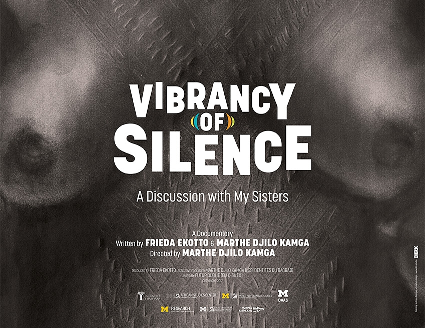 Vibrancy of Silence - Saturday, June 9th, 2:00pm(NY Premiere) Marthe Djilo Kamga, 2017, 90 min