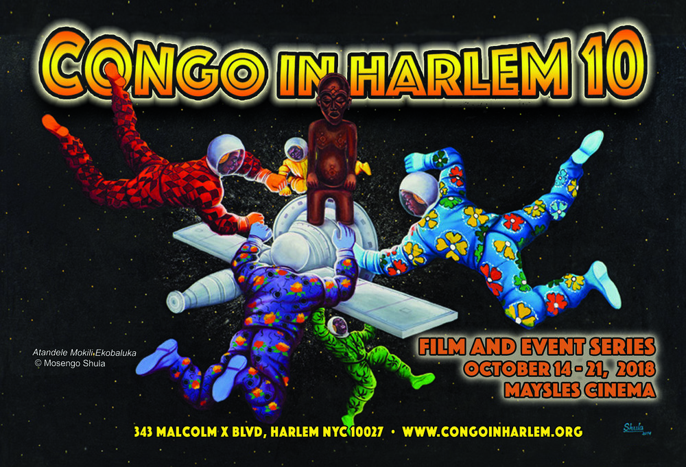 Saturday 10/20 | 12PM - Congolese Music and Dance Workshop FREE ADMISSION