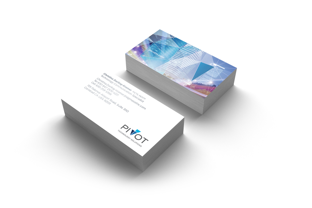 Business card deisgn