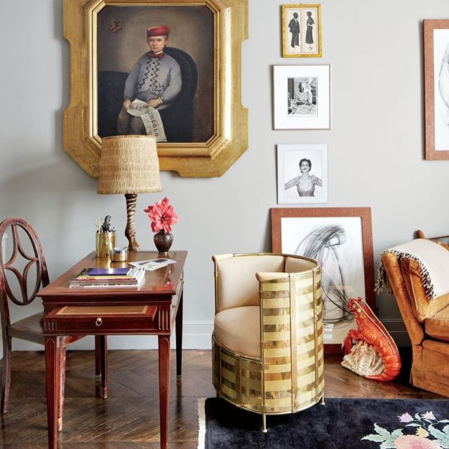 "#TBT| Stefano Pilati showcases Mats' chair, Eldorado (2002), in his Parisian Duplex; featured in @archdigest ""Style And Substance,"" March 2013. Architect: Bruno Caron Architectes. 📷: Björn Wallander. #matstheselius #kallemo #källemo #stefanopilati #collection_källemo @addesignshow @lsmdnyc #zegna #ysl"