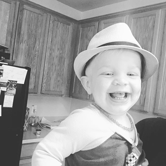 Jude. The Dude. . . . . . #kids #dadlife #heyjude #dadliferules #littleboysrock #littlekids #babyblue #3 #giftfromgod #parenting #growingup #raisingkids #fatherhood #babyfedora