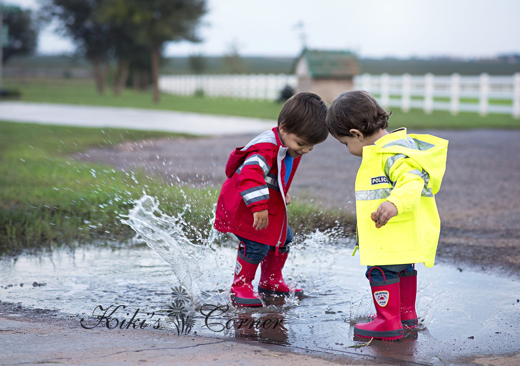 puddels, jumping in puddles, rain boots, fun
