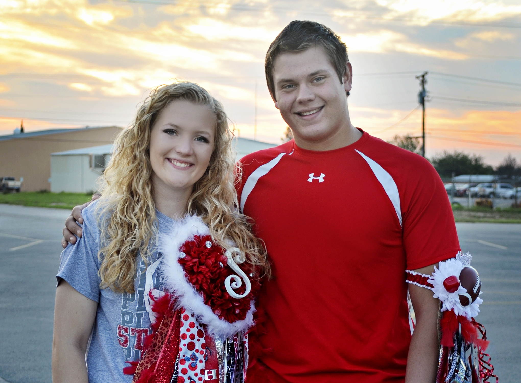 homecoming mum, homecoming queen nominee