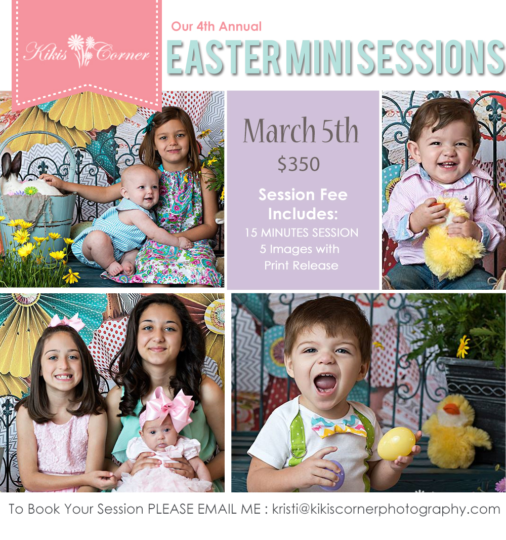 easer mini sessions, kikiscorner photography, bunny, chicks, easter, spring