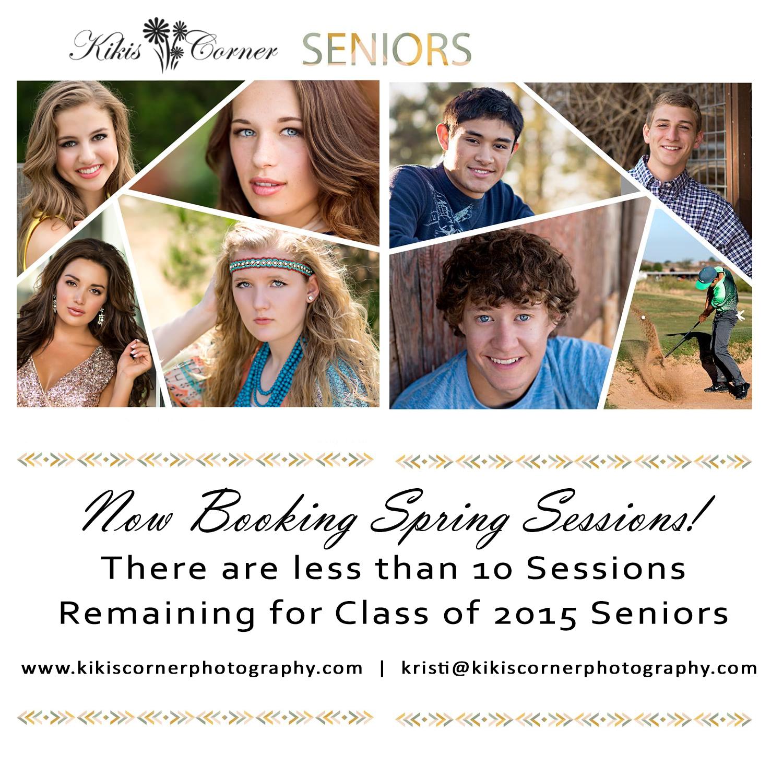 spring senior sessions