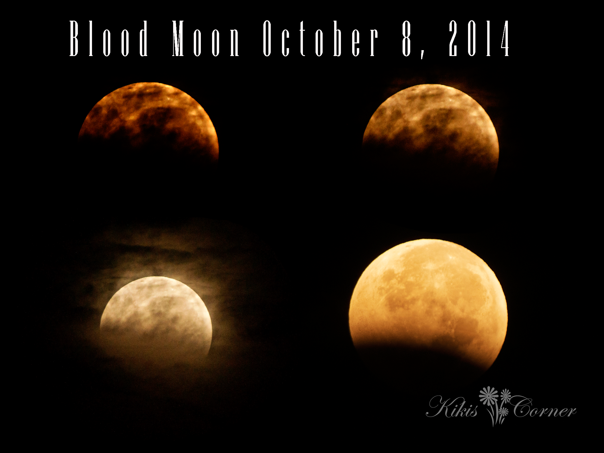 blood moon, october 2014