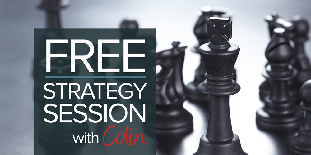 Free marketing strategy session with Colin