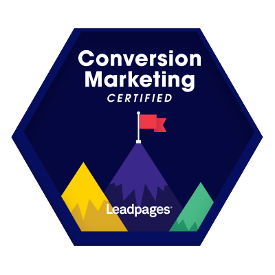 Conversion Marketing Certified