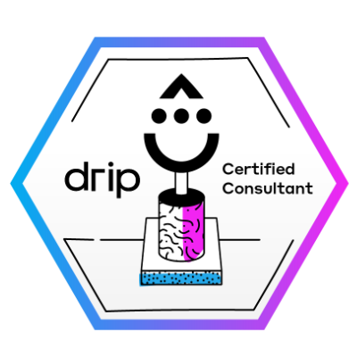 Drip Certified Consultant Badge