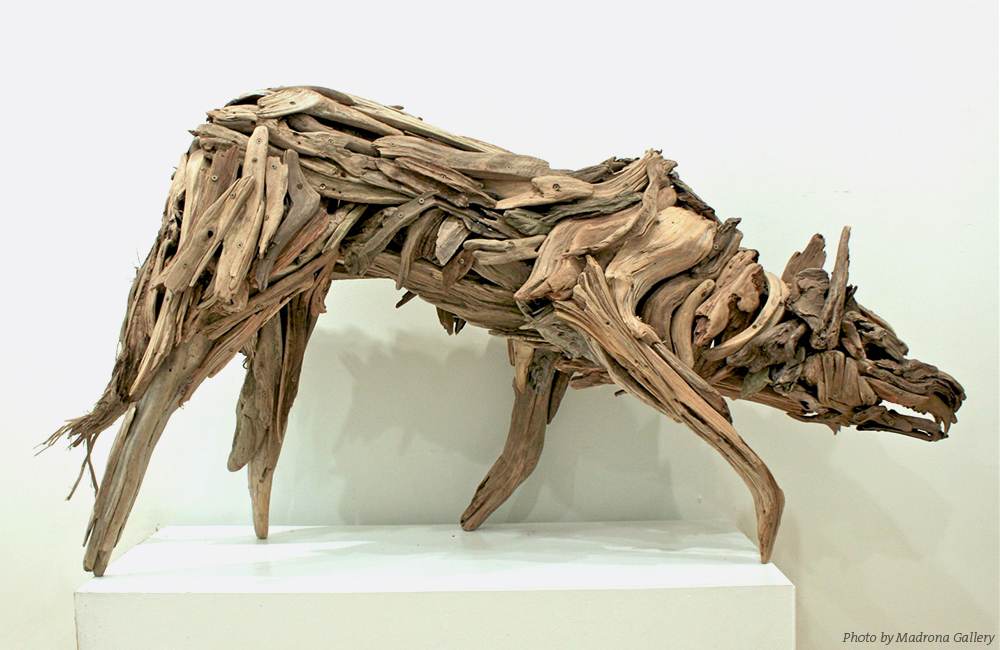 Salmon Wolf by Guthrie Gloag