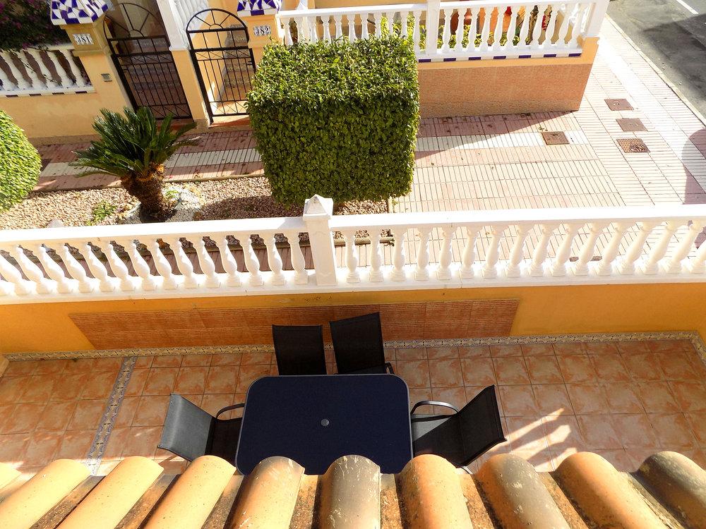 Terrassen på første sal