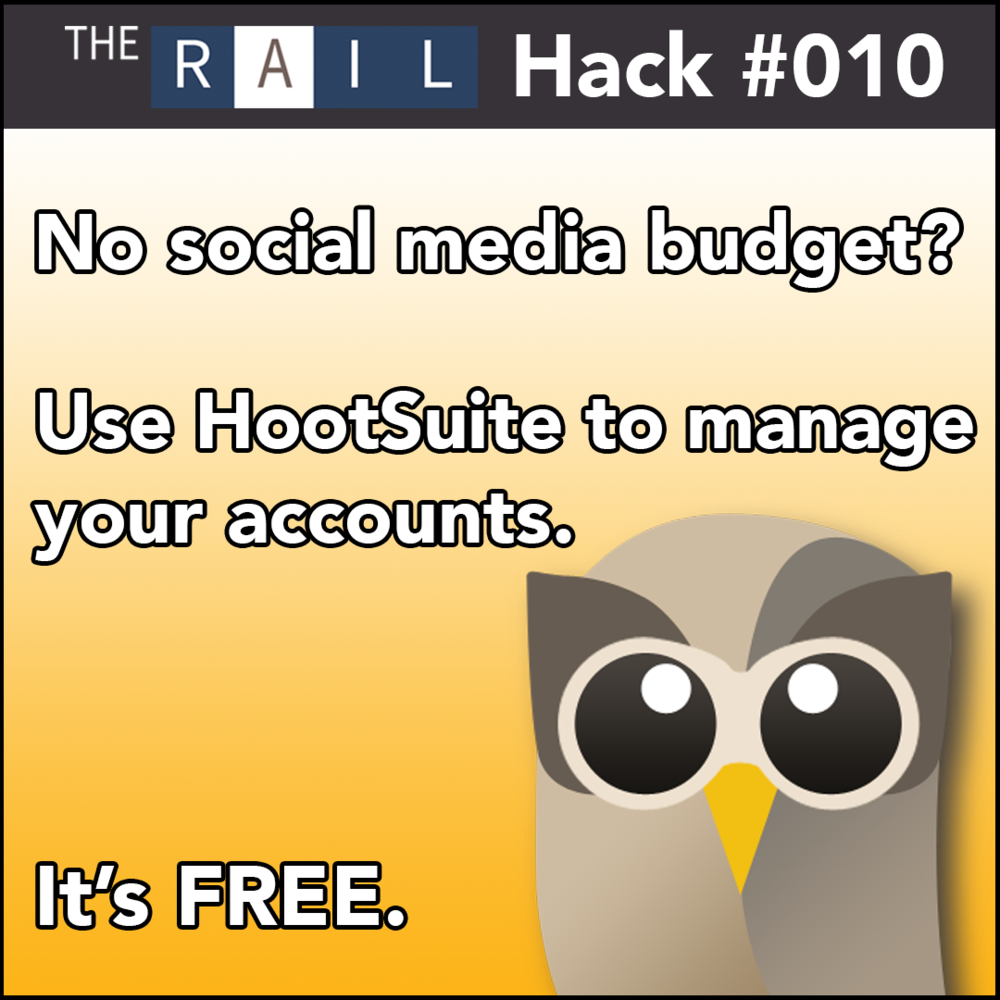 Restaurant Hack - Manage your restaurant's social media accounts with Hootsuite