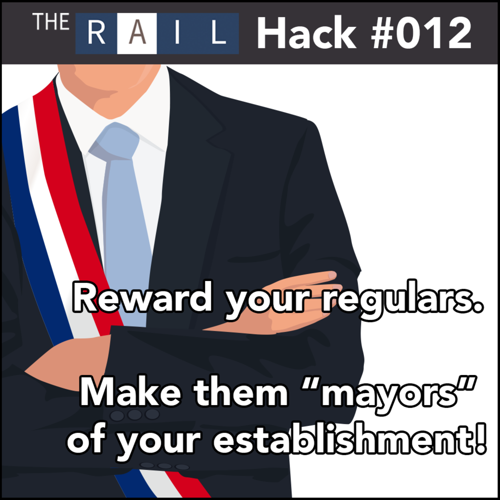 Restaurant Hack #012 - Reward your bar regulars and keep them happy