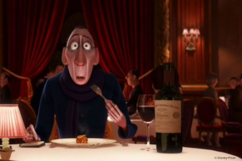 Ratatouille was so good it even got the Grand Cru Cheval Blanc label right