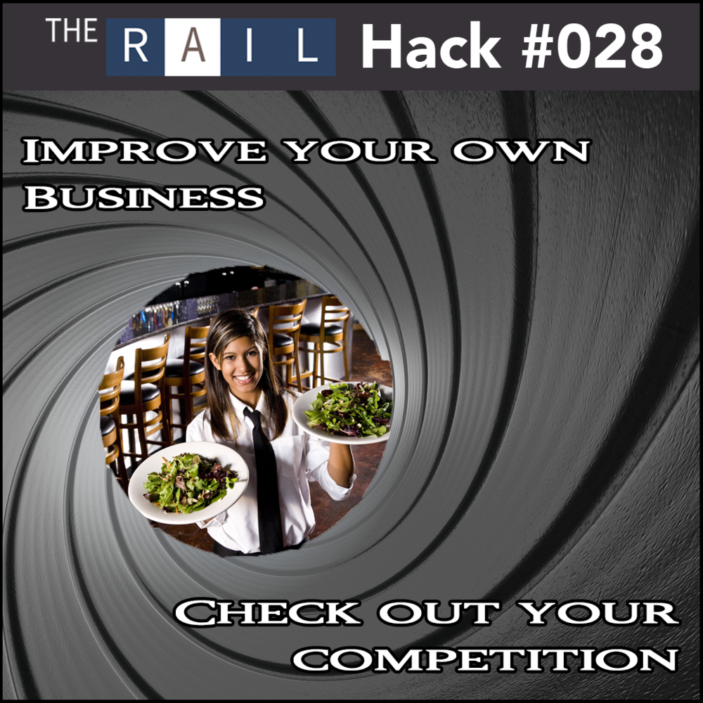 Spying on other restaurants is a great way to learn about your competition and compare it to your own establishment.