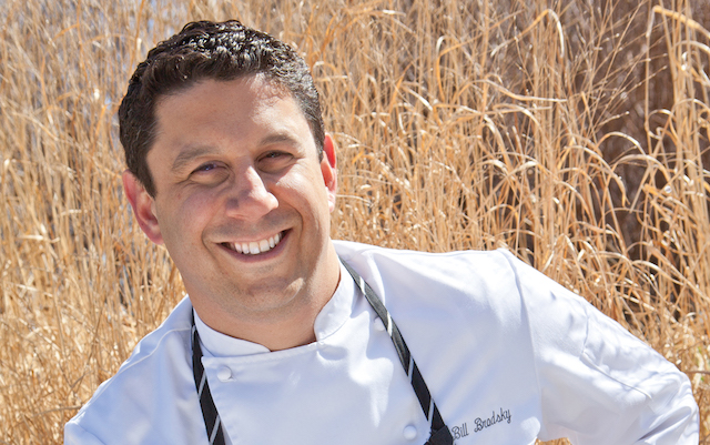 Bill Brodsky is looking to build loyalty with his kitchen staff by working and training young chefs
